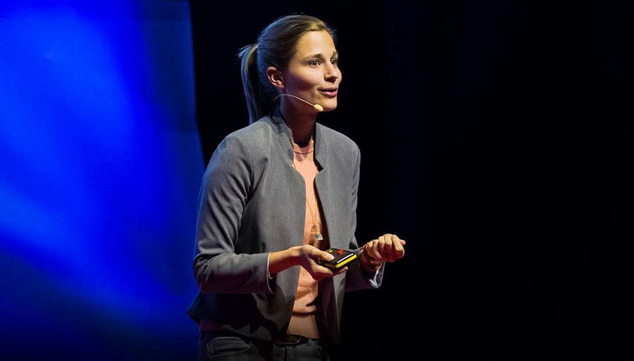 TED Talk Giulia Enders