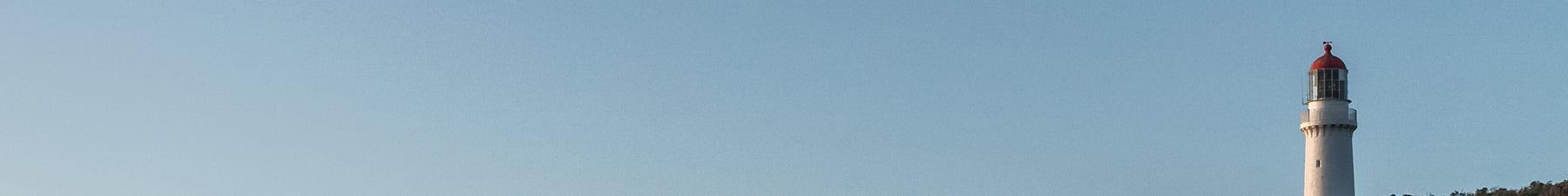Lighthouse blue sky