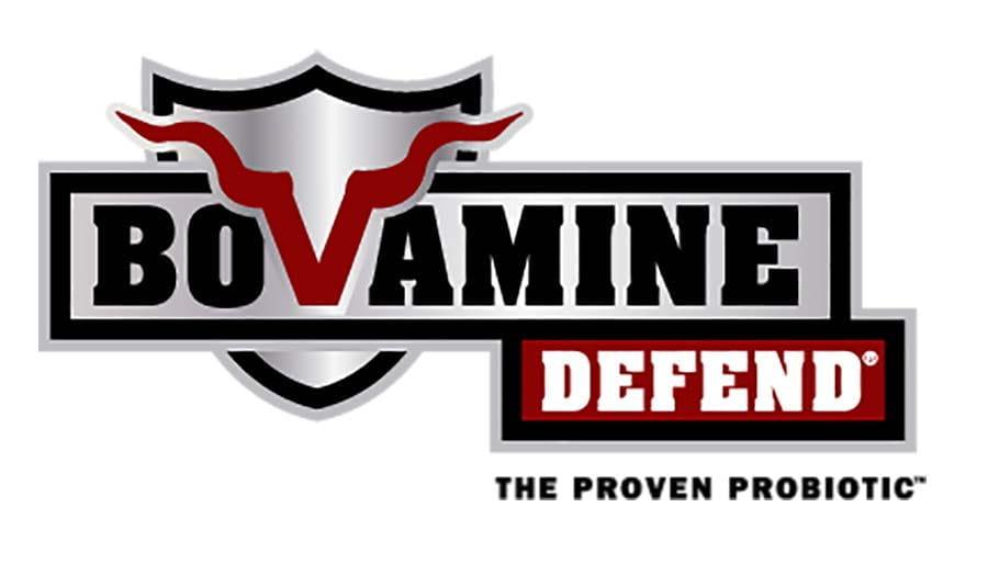 Bovamine Defend logo