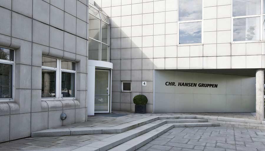 Chr. Hansen, Hoersholm HQ, entrance, Denmark