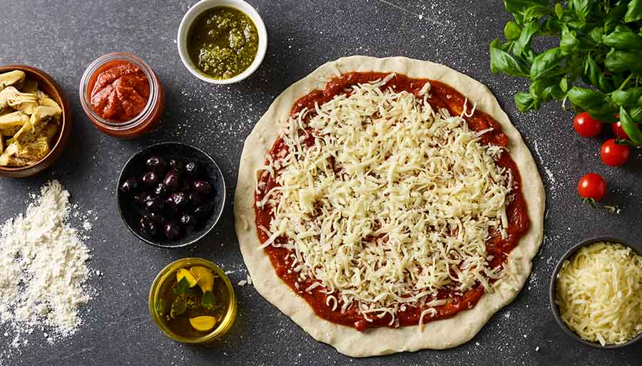 Pizza mozerella