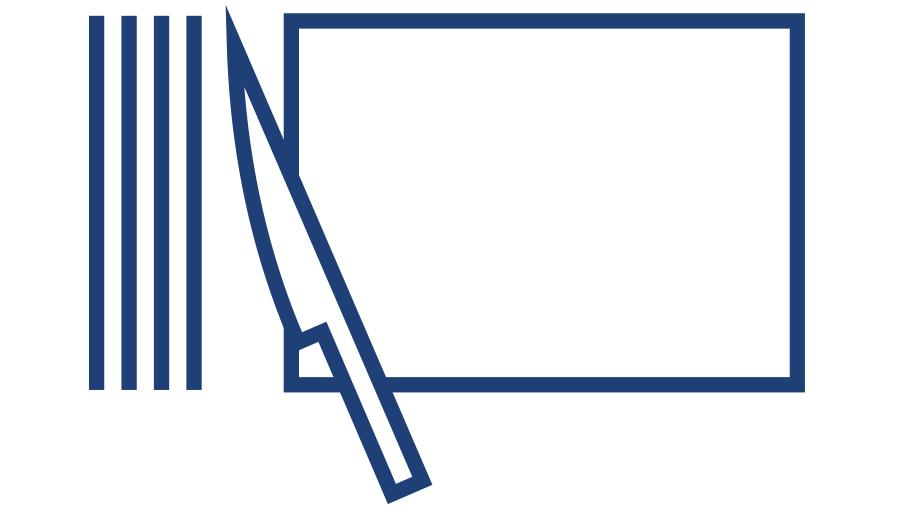 Slicing icon