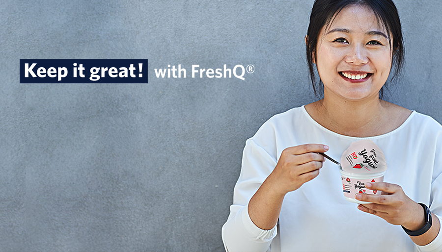 Keep it great! with FreshQ®