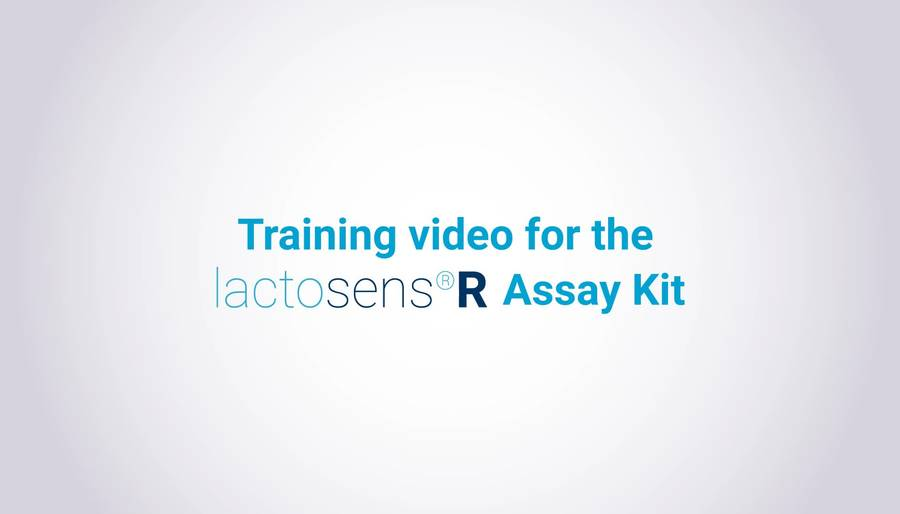 LactoSens®R Assay training video