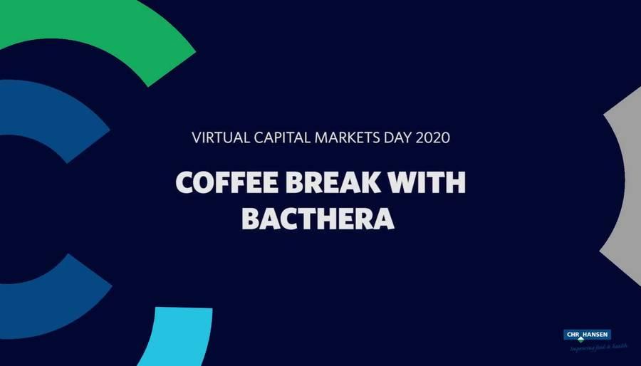 CMD 2020 Coffee break with Bacthera