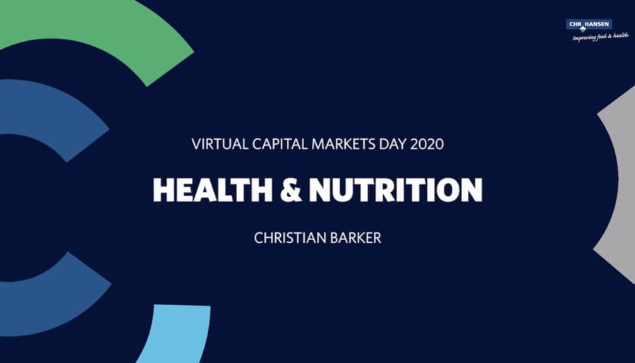 CMD 2020 Health & Nutrition