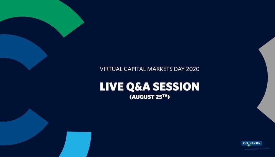 CMD 2020 Q&A session