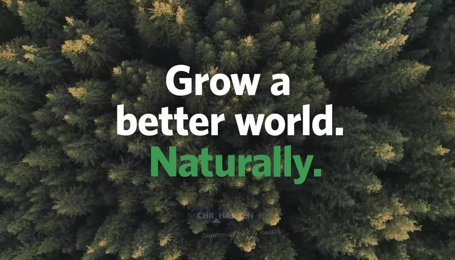 Our purpose: Grow a better world. Naturally.
